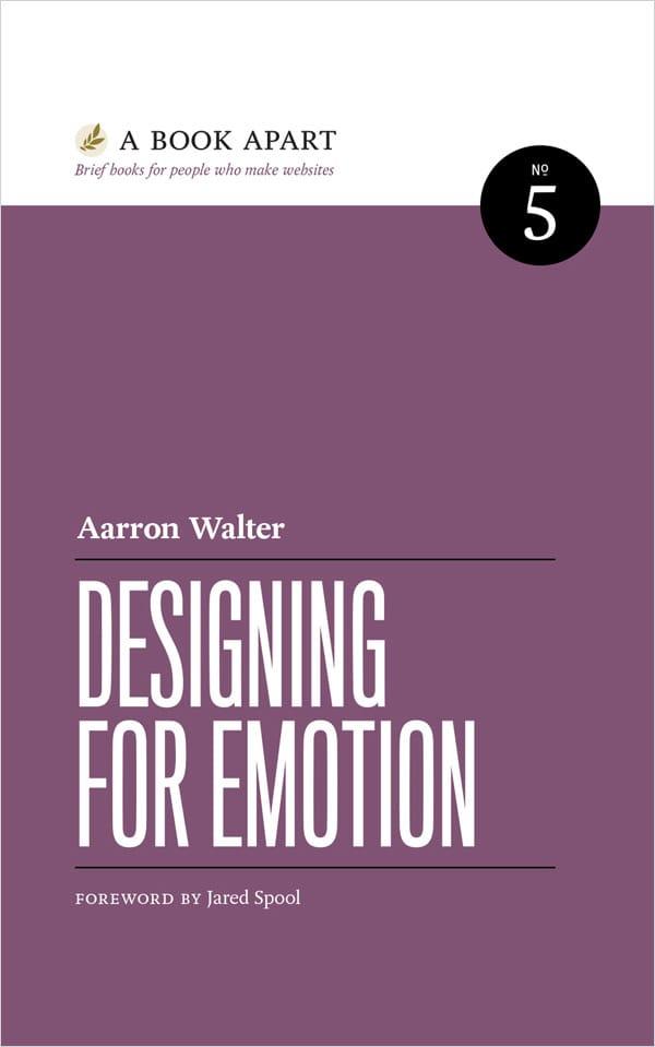 Designing for Emotion book image