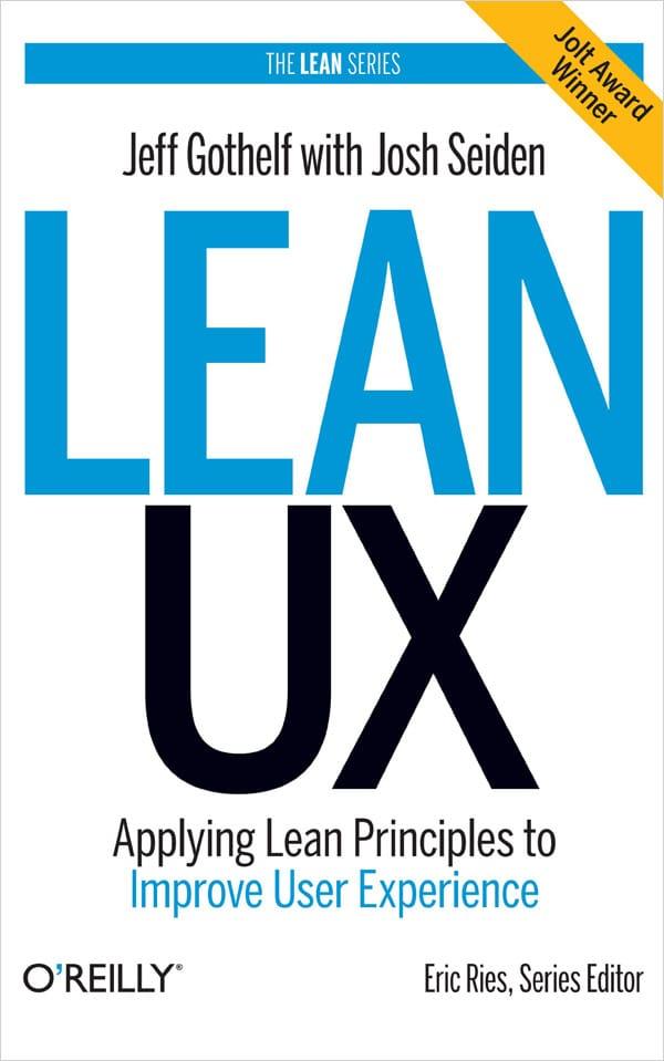Lean UX book image