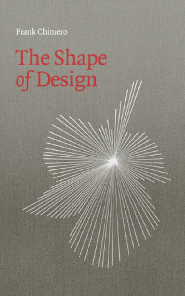 The Shape of Design book image