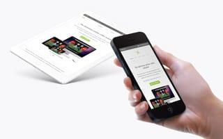 E.com WebTV Platform Website Mobile Version screenshot