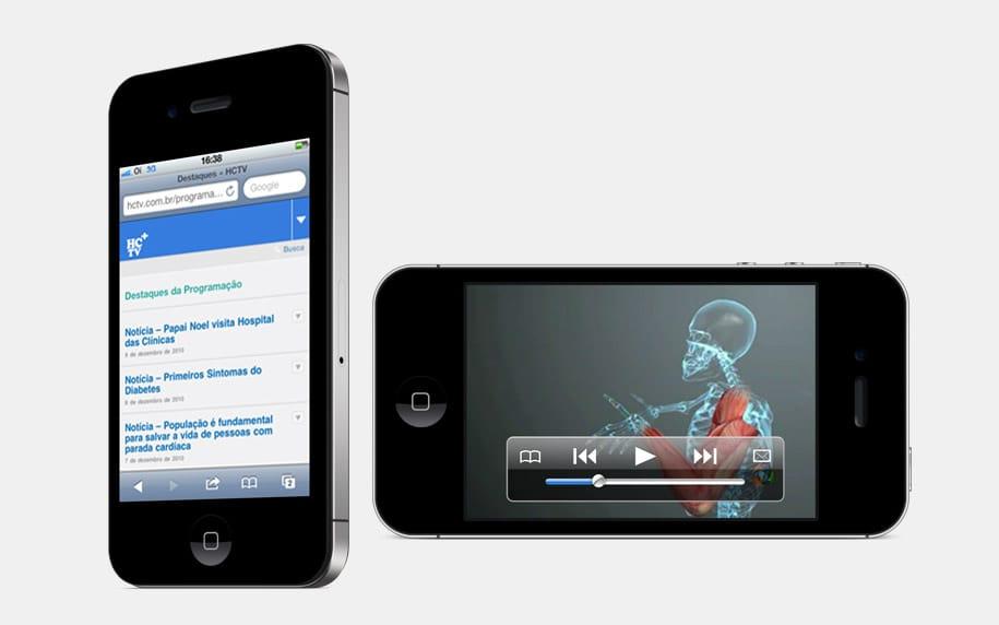 HCTV WebTV Platform Mobile screenshot